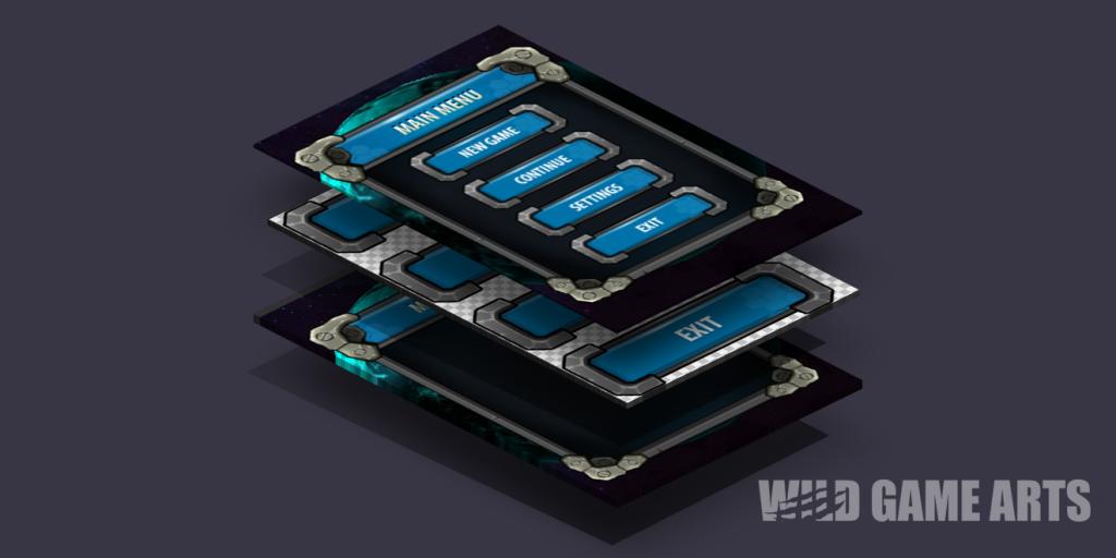 Game Menu Design - Image